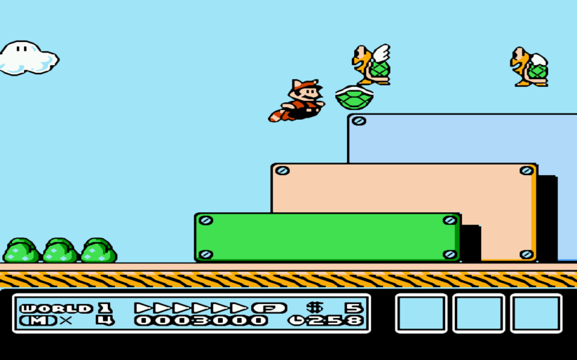 Games history – histoire du jeu de plateformes : Super Mario Bros. 3 (1990)