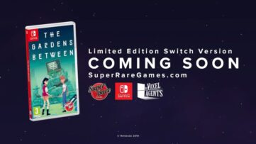 La version boîte de The Gardens Between arrive bientôt chez Super Rare Games
