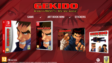 Gekido Kintaro's Revenge version boite chez Red Art Games