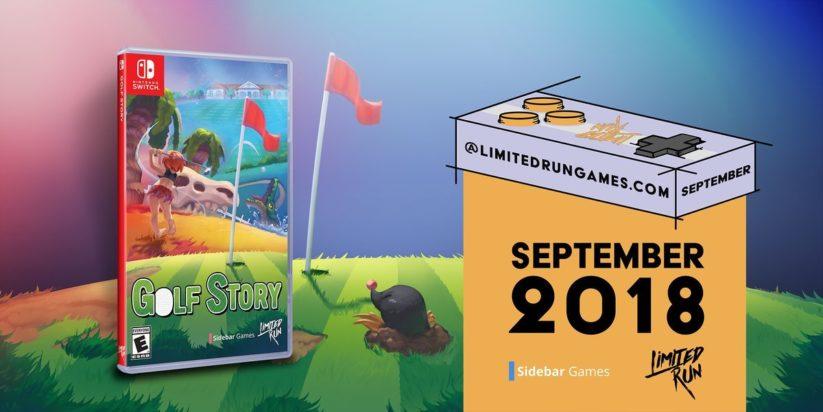 Limited Run Games annonce la sortie boite de Golf Story
