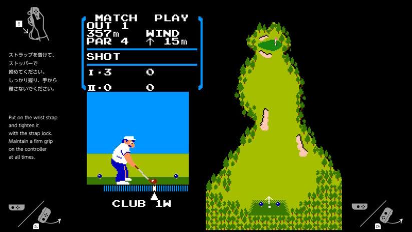 Golf Nes 1 ou 2 joueurs sur Nintendo Switch
