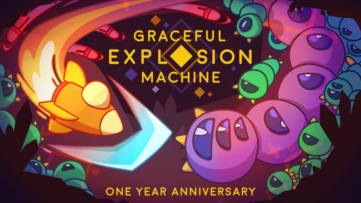 Jeu Graceful Explosion Machine sur Nintendo Switch : premier anniversaire