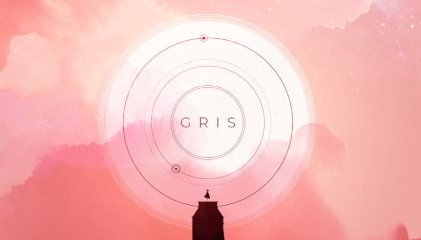 Jeu Gris sur Nintendo Switch : artwork du jeu