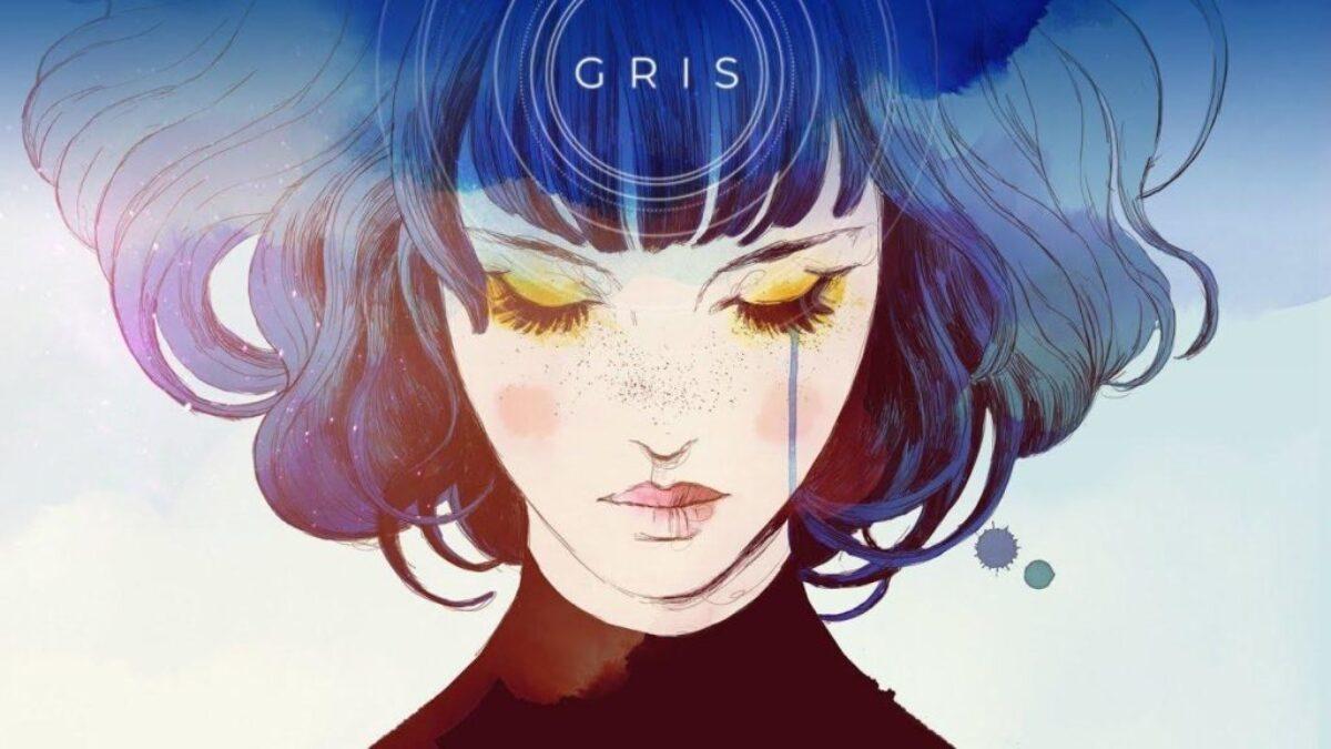 Jeu Gris sur Nintendo Switch : artwork du jeu présentant l'héroïne