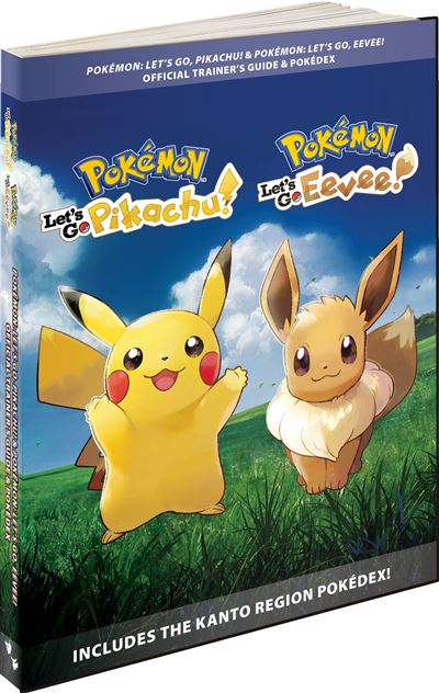 Guide officiel Pokémon Let's Go ! : couverture