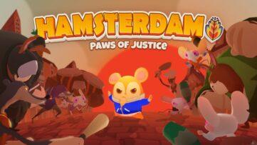Jeu Hamsterdam sur Nintendo Switch : artwork du jeu