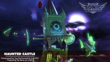 Un château hanté et un OST inquiétant dans Team Sonic Racing