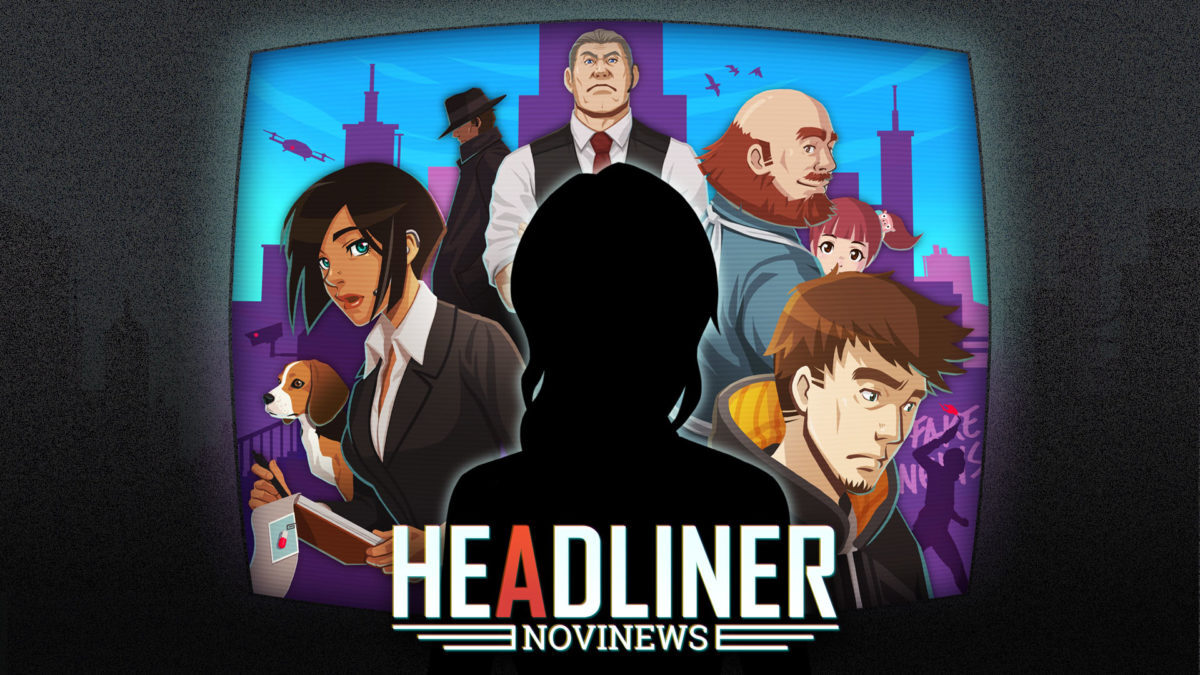 Jeu Headliner: NoviNews sur Nintendo Switch : artwork du jeu