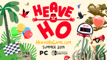 Jeu Heave Ho sur Nintendo Switch : artwork du jeu