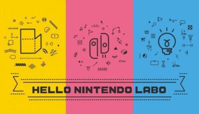 Image de présentation de Nintendo Labo sur Nintendo Switch