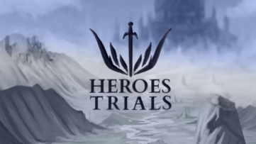 Jeu Heroes Trials sur Nintendo Switch : artwork du jeu
