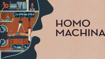Jeu Homo Machina sur Nintendo Switch : artwork du jeu