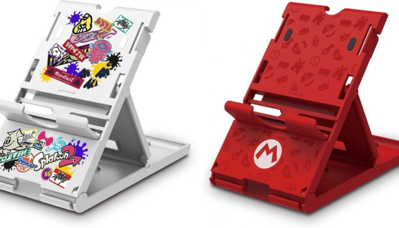 [Précommande] 2 nouveaux supports Playstands Hori version Splatoon 2 et Super Mario pour Switch