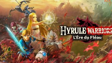 Jeu Hyrule Warriors : L'Ère du Fléau sur Nintendo Switch : artwork du jeu