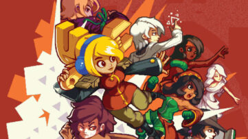 Jeu Iconoclasts sur Nintendo Switch : artwork du jeu