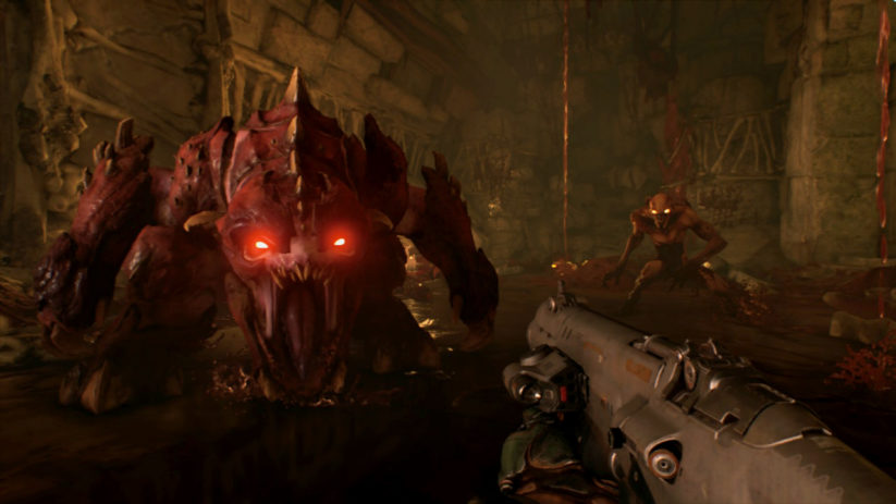 Image du jeu Doom d'id Software sur Nintendo Switch