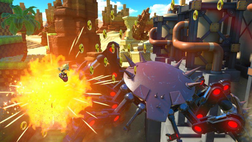 Image du jeu Sonic Forces sur Nintendo Switch : combat