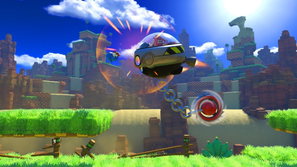 Image du jeu Sonic Forces sur Nintendo Switch : Green Hill Zone