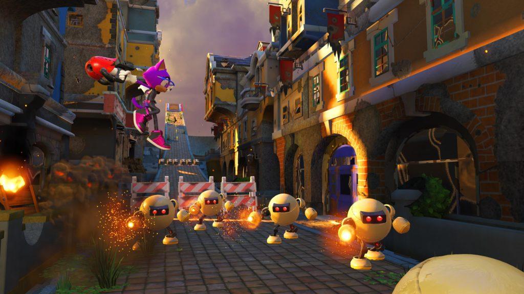 Image du jeu Sonic Forces sur Nintendo Switch : aperçu du personnage personnalisé