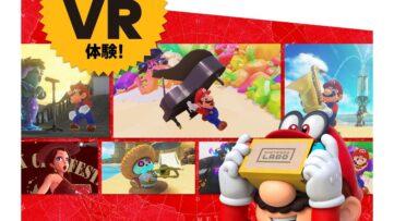 Quelques informations sur le kit VR pour Super Mario Odyssey