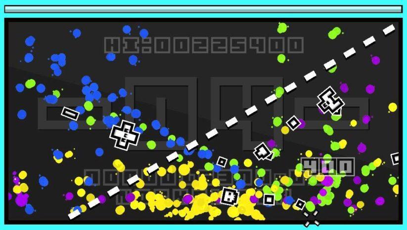 Jeu InkSplosion sur Nintendo Switch : capture d'écran calme