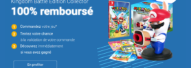 Instant gagnant : gagnez toutes les heures l'édition collector de Mario + Lapins crétins Kingdom battle