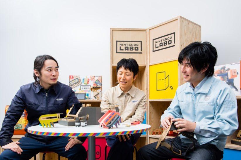 Interview des créateurs du Nintendo Labo : le trio derrière ce nouveau concept de jeu vidéo