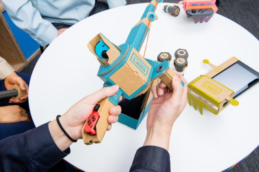 Interview des créateurs du Nintendo Labo : explication du Toy-Con canne à pêche