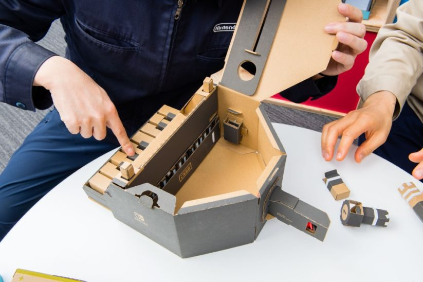 Interview des créateurs du Nintendo Labo : Toy-Con piano
