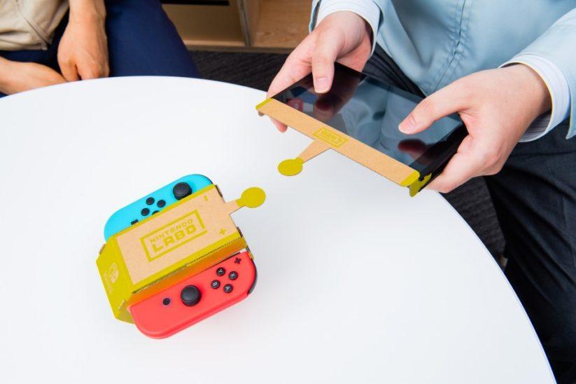 Interview des créateurs du Nintendo Labo : Toy-Con voiture téléguidée