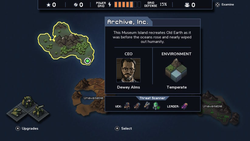 Review : Into the Breach (Switch) - présentation d'une mission