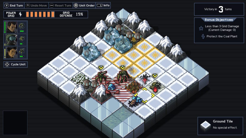 Review : Into the Breach (Switch) - en pleine action