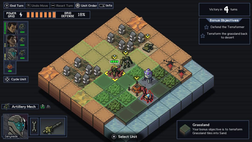 Review : Into the Breach (Switch) - aperçu d'une bataille
