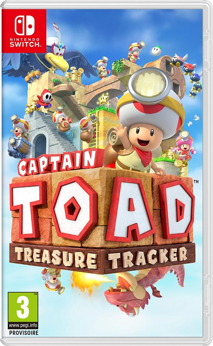 Jaquette du jeu Captain Toad Treasure Tracker sur Nintendo Switch