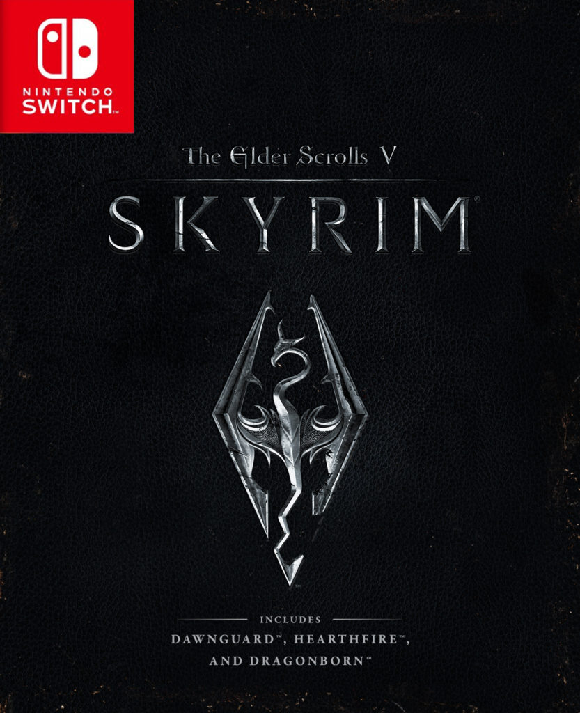Jaquette du jeu The Elder Scrolls V Skyrim sur Switch