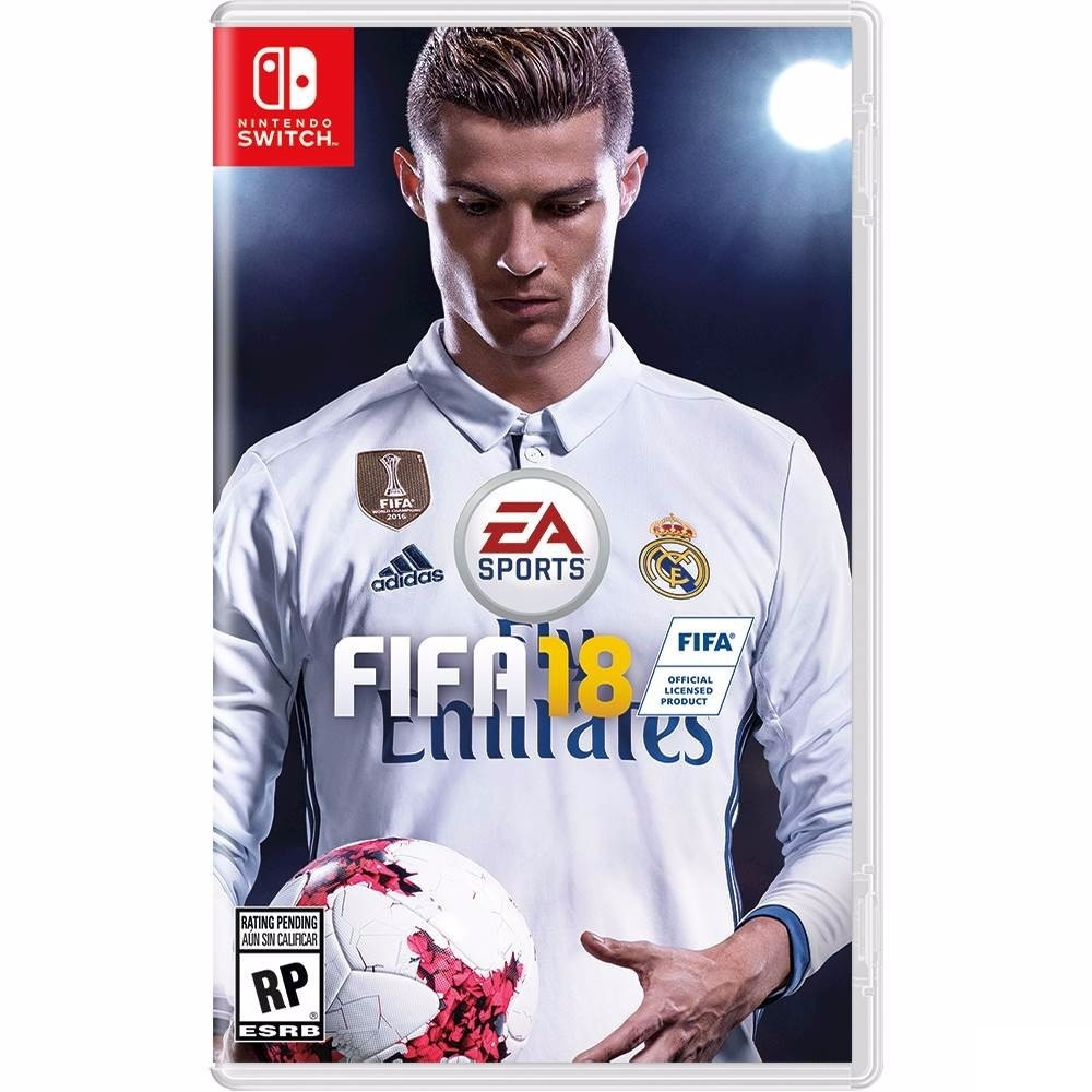 Jaquette Fifa 18 sur Switch