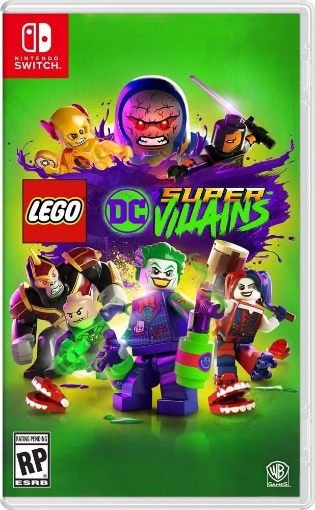 Jaquette du jeu Lego DC Super-Vilains sur Nintendo Switch