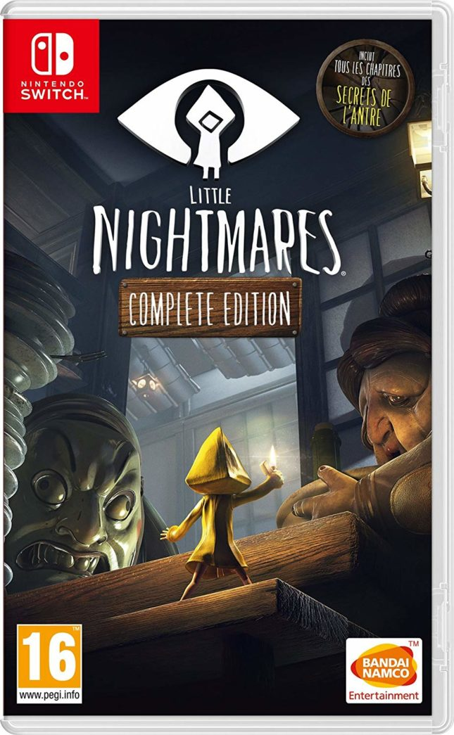 Jaquette du jeu Little Nightmares Complete Edition sur Nintendo Switch