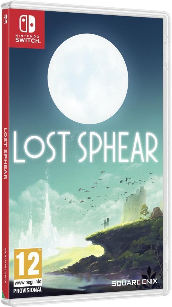 Jaquette du jeu Lost Sphear sur Nintendo Switch