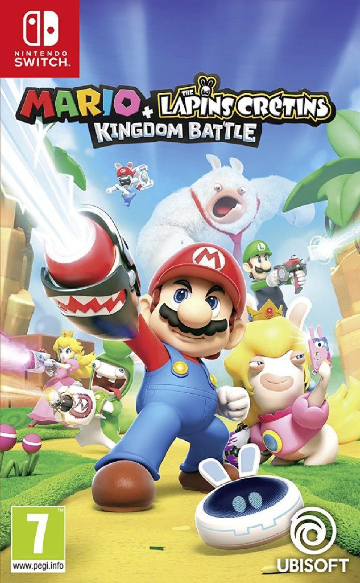 Mario + Lapins crétins Kingdom battle à 44€99