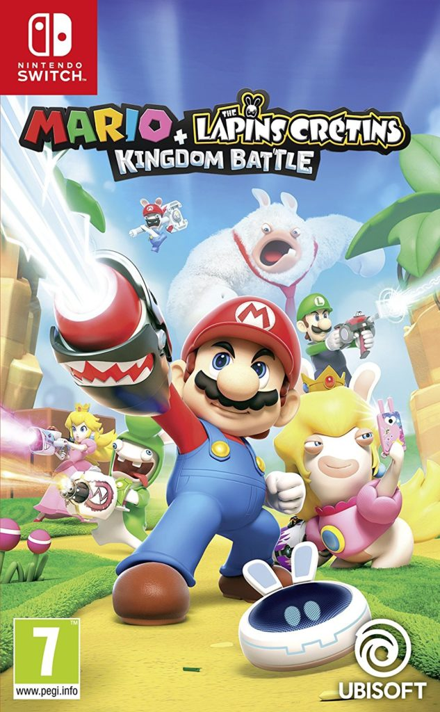 Mario + Lapins crétins Kingdom battle à 44€99