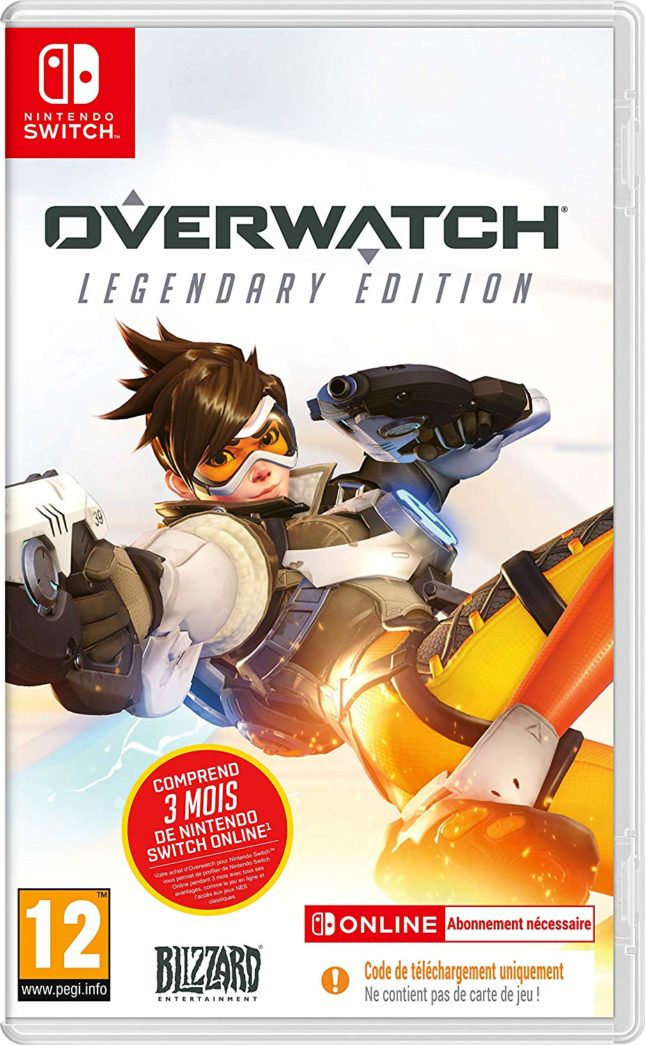Jaquette du jeu Overwatch Legendary Edition sur Nintendo Switch