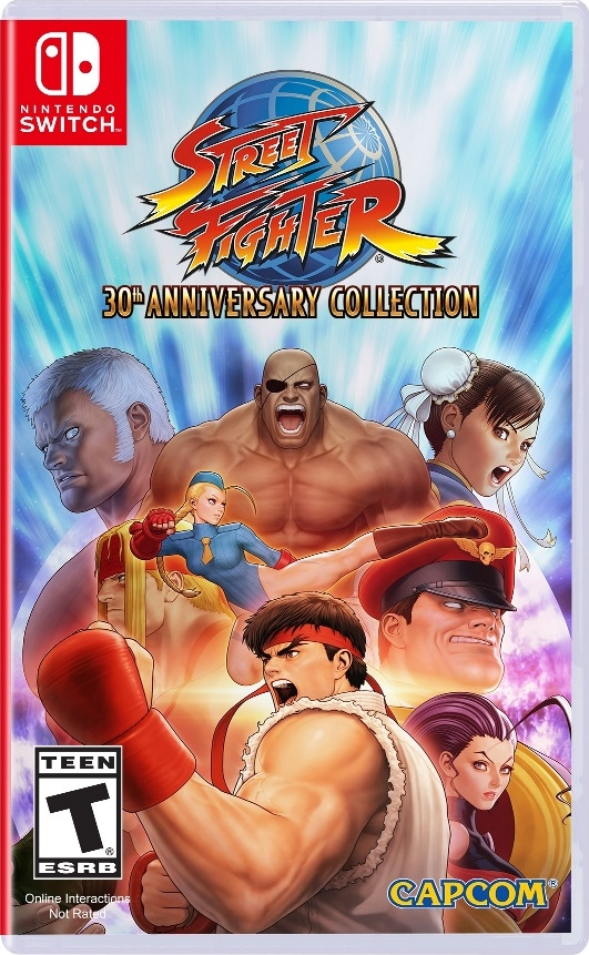 Jaquette du jeu Street Fighter 30th Anniversary Collection sur Nintendo Switch