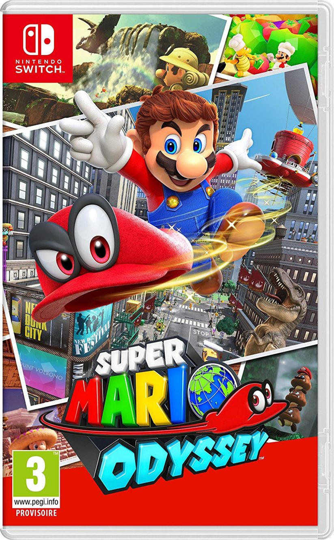 Jaquette du jeu Super Mario Odyssey sur Nintendo Switch