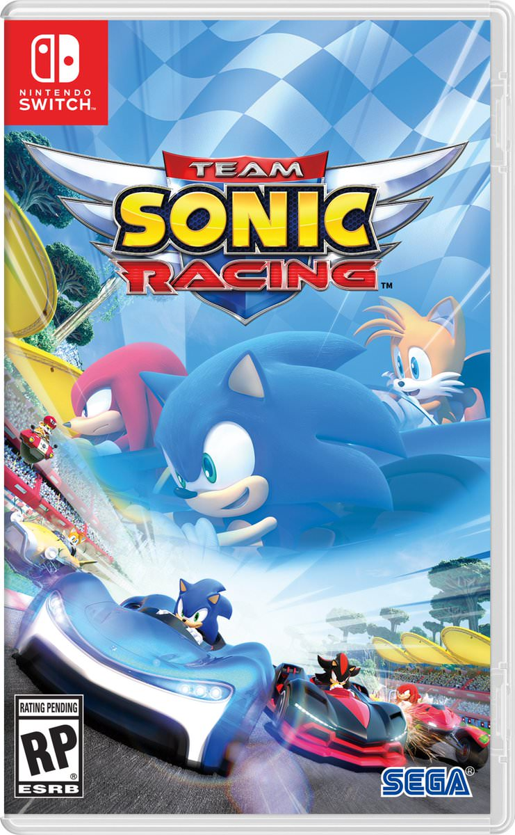 Jaquette du jeu Team Sonic Racing sur Nintendo Switch