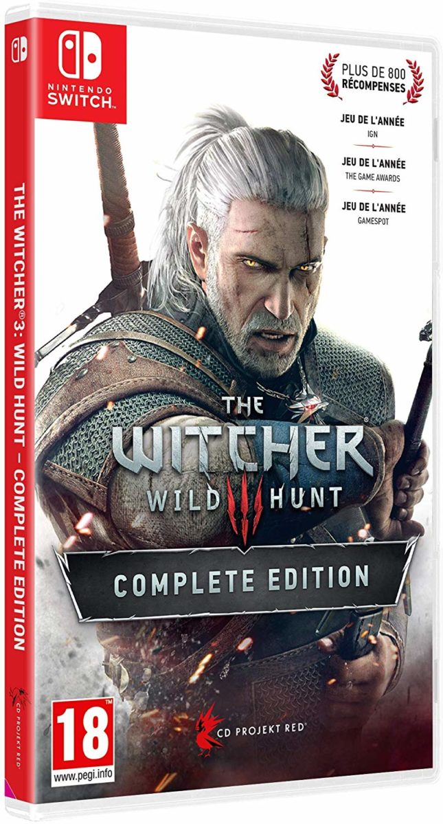Jaquette de The Witcher 3: Wild Hunt Complete Edition sur Nintendo Switch