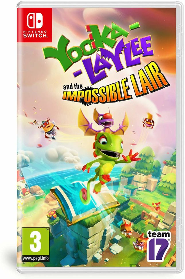 Jaquette du jeu Yooka-Laylee: The Impossible Lair sur Nintendo Switch