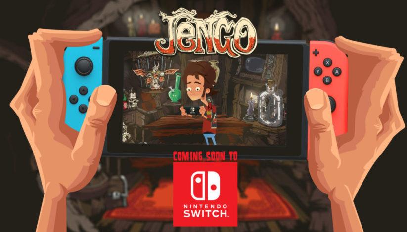 Jeu Jengo sur Nintendo Switch : bannière d'annonce