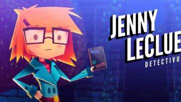 Jeu Jenny LeClue - Detectivu sur Nintendo Switch : artwork du jeu