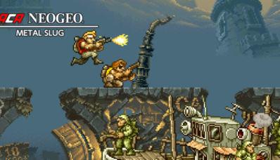 ACA NEOGEO Metal Slug sur l'eShop Nintendo Switch